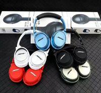 auriculares auxiliares al por mayor-2020 venta para auriculares inalámbricos Bluetooth para auriculares inalámbricos estéreo QC35 Con Micphone Headset Soporte de tarjeta TF AUX Quiet Comfort 35 35