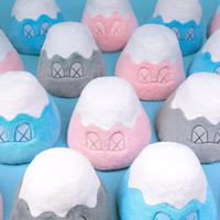 Wholesale toy car s resale online - KAWS Mount Fuji BFF Sesame Street Stuffed Animal Plush Toys Pillow Cushion Car Decoration Cute Valentine s Day Gifts Hot Toys