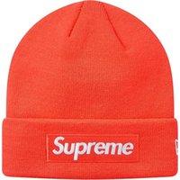 çift banyolu şapka toptan satış-stokta YENİ 18FW Kutusu logosu Beanie BEANIE çift soğuk şapka örme şapka yün şapka judyclothes