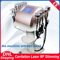 Wholesale slimming machine rf ultrasonic lipo for sale - Group buy New Arrival Cavitation Slim RF Skin Lipo Laser Slimming Strong K Ultrasonic Vacuum Body Sculpting Cellulite Removal Slimming Machine