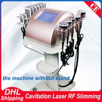 cavitação laser rf vácuo venda por atacado-Nova Chegada Cavitação Magro RF Pele Lipo Laser Emagrecimento Forte 40 K Ultrasonic Vácuo Corpo Sculpting Celulite Emagrecimento Máquina de Remoção