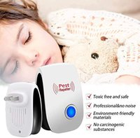 Wholesale electronic rat insect for sale - Group buy Ultrasonic Pest Repeller Upgraded Electronic Pest Repellent Plug in Indoor Pest Control for Insects Mosquito Mouse Cockroaches Rats Bug etc