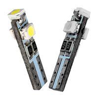 12 v gösterge tablosu lambası toptan satış-10 Adet T5 W1.2W W3W 74 85 86 206 3 SMD 1210 3528 LED Araç İç Işık Oto Yan Kama Dashboard Göstergesi Gösterge Lambası Ampul 12 V