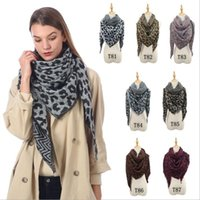 Wholesale printed pashmina shawl tassels resale online - Scarves Leopard Print Shawl Blankets Girls Classic Oversized Tassel Wraps Collar Neck Scarf Fringed Pashmina Hot Winter Neckerchief C6134