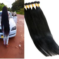 Wholesale inch hair wefts for sale - Group buy Virgin Human Hair Bundles Brazilian Hair Weaves Unprocessed Inch Wefts Indian Peruvian Malaysian Mink Human Hair Extensions