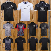 6036a0c477c68d Wholesale rugby shorts for sale - 2018 new Maori All Blacks Jersey New  Zealand Maori All