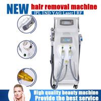neue helle haarentfernung großhandel-NEUE 5in1 Multifunktions E-Licht RF Hautverjüngung OPT SHR IPL Laser Haarentfernungsmaschine Opt SHR Blutgefäßentfernungsmaschine