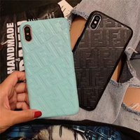 Wholesale phone shells for sale – best Slim Cell Phone Cases Designer Phone Case For iPhone XS Max XR X Plus Shockproof Durable Cellphone Back Shell