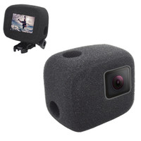 Wholesale gopro housing case for sale - Group buy Windshield Wind Noise Reduction Sponge Foam Case Cover Housing For GoPro Hero Sports Action Camera Accessories
