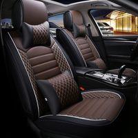 mercedes benz leder großhandel-2020 neue Auto Autositzbezüge Fit Mercedes Benz A C W204 W205 E W211 W212 W213 S Klasse CLA GLC ML GLE GL PU Leder Sitzkissen