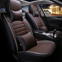 clase de coches al por mayor-2020 Nuevo Auto Fundas para asientos de automóviles Fit Mercedes Benz A C W204 W205 E W211 W212 W213 S class CLA GLC ML GLE GL PU Cojín de asiento de cuero