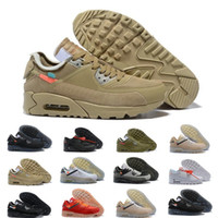 b380ebc8ca2643 2019 Men 90 Running Shoes Virgil Designer World cup Triple White Black air  Red off Sneakers 90s Mens Trainers Sports Chaussures zapatos