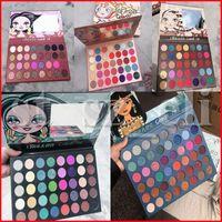 48 lidschatten großhandel-IMEAGO Creations Augen Make-up Matte Lidschatten-Palette 32 35 40 48 Farben Preseed Pigment Smoky Lidschatten-Palette 5 Styles
