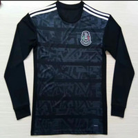 Wholesale mexico long sleeve soccer jersey resale online - Mexico Away Long sleeve Jersey H LOZANO H HERRERA R MARQUEZ CHICHARITO A GUARDADO LAINEZ Soccer Jersey mexican football shirt