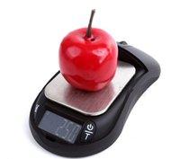 skalen gramm großhandel-Neue 100/200/300 / 500g x 0,01g und 500x0,1g Maus mini tragbare elektronische digitale Taschen-Schmuck-Skala-Balance-Taschen-Gramm-LCD-Anzeige LLFA