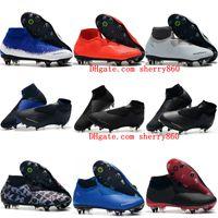 zapatos de fútbol profesional al por mayor-2019 nuevos zapatos de fútbol para hombre de la llegada Phantom VSN Elite DF SG-Pro Botines de fútbol Anti Clog Phantom Vision botas de fútbol Scarpe calcio
