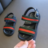 baby sandalen großhandel-1-10 T Baby Sandalen Sommer Kinder Jungen Mädchen Erste Wanderer Schuh Baby Mode rutschfeste Schuhe 2 Arten