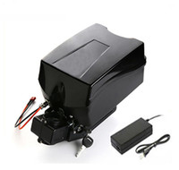 Wholesale frog battery resale online - AU EU US folding bike bicycle battery V ah Frog batteries for w to W motor BMS V A charger