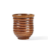 Wholesale wood glasses china for sale - Group buy 20pcs Wooden Cup Log Color Handmade Natural Wood Coffee Tea Beer Juice Milk Mug Dropshipping