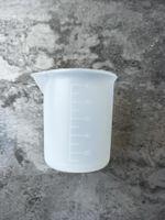 barra de medir al por mayor-Reutilizable 100 ml Taza de medición transparente con escala Herramientas de medición de silicona para bricolaje Hornear Cocina Bar Comedor Accesorios DHL SHIP HH7-1068