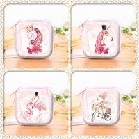 Wholesale blue unicorn toy resale online - Gift Case Companion Birthday Unicorn Flamingo Sugar Box Originality Square Rabbit Boxes Marry Girls Bardian Christmas Gifts hs N1