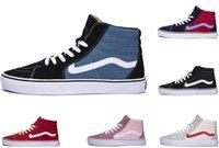 açık paten ayakkabıları toptan satış-Sıcak satış tasarımcı ayakkabı Rahat ayakkabılar Korkusu Eski Skool Spor ayakkabı Tuval Skate ayakkabı eğitmen Sneakers Açık yürüyüş koşu ayakkab ...