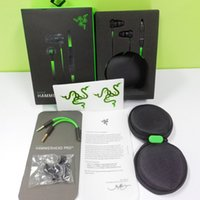 razer kopfhörer groihandel-Razer Hammerhead Pro V2 Kopfhörer In Ear Kopfhörer Mit Mikrofon Gaming Headsets Noise Isolation Stereo Bass