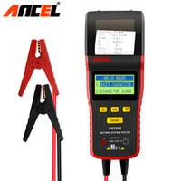 ingrosso macchina di taglio automatica x6-Ancel BST500 12V 24V Battery Tester digitale multilingue Automotive Battery Analyser CCA con Stampa rapporto