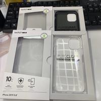 ingrosso iphone casi puro-Cover Iphone 11 Goccia di protezione puro chiaro D3O TPU Custodia per iphone11 11Pro 11Pro max con l'imballaggio al