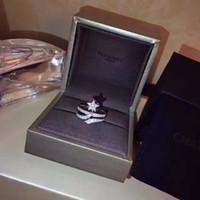 красивое золотое кольцо пальца оптовых-Мисс Ринг Метеор, проходящий сквозь пальцы, сияющий и красивый, покрытый стерлинговым серебром 925 пробы