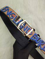 ingrosso cintura in pelle marrone larga donna-NUOVO Cintura grande fibbia designer cinture di lusso cinture B11 # uomo donna marche fibbia della cintura di alta qualità moda uomo cinture in pelle