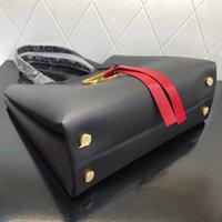 ingrosso borsa bianca rossa-E W VRING Shopping Bag Borsa da donna di lusso di alta qualità Borsa di lusso Borsa per la spesa Borsa di marca di moda rosso bianco nero