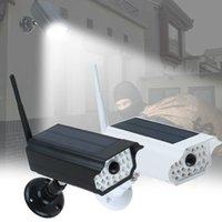 luz de segurança conduzida ao ar livre sem fio venda por atacado-30 LED 2200mAh Solar Luz IP65 impermeável de segurança exterior Lâmpada de parede Night Light sem fio Solar Com Sensor de Movimento Para Jardim