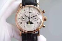 ручная цепь оптовых-PF роскошные мужские часы многофункциональный фазы синхронизации часы 7750 ручной цепи механическое движение водонепроницаемый синий Кристалл стекла