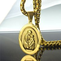 Wholesale Men Women k Yellow Gold Filled The prayer Chain Necklace cm N250JKL