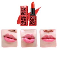 Wholesale charm naked resale online - Waterproof and durable professional makeup lipstick sexy charm mermaid naked lips smooth moisturizing and wrinkle stripes