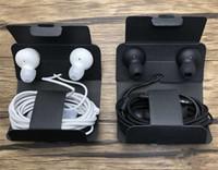 ingrosso auricolari bianchi neri-OEM S10 Auricolari Cuffie Auricolari Cuffie Auricolari per iPhone6 Plus Samsung s9 s8 s7 plus per Jack In Ear 3.5mm bianco e nero EO-IG955