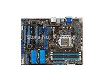 soporte de escritorio gratuito al por mayor-Envío gratis placa madre original para P8Z68-V LX DDR3 LGA 1155 Soporte I3 I5 I7 32GB Z68 USB 3.0 Z68 placa madre de escritorio