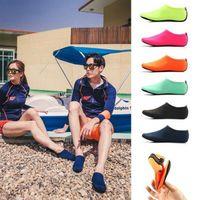 plaj çorapları toptan satış-Su Sporları Dalış Çorap Çocuk Yetişkin Anti Patinaj Plaj Çorap Nefes Kumaş Çabuk Kuruyan Yüzme Sörf Islak Elbise Ayakkabı MMA1728