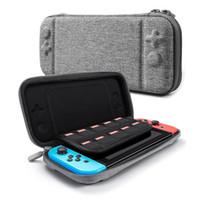 cajas de juegos nintendo al por mayor-Para la Consola Nintendo Switch Consola Durable Tarjeta de Juego Bolsa de Almacenamiento Estuche Portátil Duro EVA Bag shell Bolsa Portátil Bolsa Protector