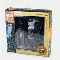 batman karanlık şövalye oyuncakları toptan satış-The Dark Knight Batman Batmobile Tumbler Şekil Oyuncak Kaiyodo Revoltech No. 043
