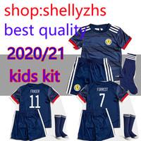 Wholesale scotland soccer jersey resale online - new SCOTLAND SOCCER JERSEYS KIDS kits HOME BOBERTSON FRASER ARMSTRONG BURKE CcGREGOR FORREST CHILD JERSEY boys FOOTBALL SHIRTS