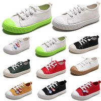 ayakkabı tembel stilleri toptan satış-2020 Olmayan Marka Tembel Çocuk Ayakkabı kanvas ayakkabılar erkek kız bebek Çocuk Slip moda rahat ayakkabılar sneakers 20-31 Stil 1