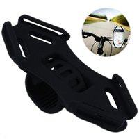 Wholesale phone holder bike for sale – best Universal Bicycle Phone Mount Silicone Bike Mobile Stand Holder Universal for Inch Devices