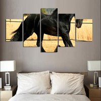 Wholesale Horse Decor For Home Online   Unframed Horse Canvas Paintings  Animal Posters And Prints Home