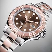 ingrosso orologio blu del pianeta-Nuovo orologio da polso Best Automatic quadrante bluetooth subacqueo Diver Mens Master Co Axial Planet Ocean James Bond Sea Watch Dive orologio da polso