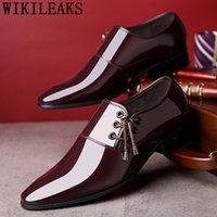 männer lederschuhe loch groihandel-formale Schuhe Männer elegante Aufzug Schuhe für Männer italienisches Geschäft Oxford Leder Belüftungsloch Coiffeur Sapato Social
