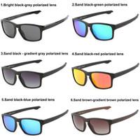 tr eyewear großhandel-Heiße Verkäufe TR Polarisierte Sonnenbrille Objektiv Sonnenbrillen für Männer und Sonnenbrillen Frauen im Freien Sport Eyewear Driving Sonnenbrille 6 Farben