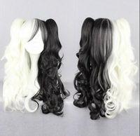 lolita wig hitzebeständig großhandel-Perücke geben Verschiffen X4 HarStyle 60cm lange hitzebeständige Faser Lolita Cosplay Perücke frei