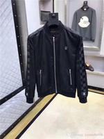 erkek ceketleri toptan satış-2019 rüzgarlık erkek ceket erkek tasarımcı ceketler Bahar Ve Sonbahar Dönemi Ve Çift Kişilik Moda Eğlence Ceket Ceketler Menswear08 Için